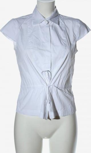 Henry Cotton's Kurzarm-Bluse in M in weiß, Produktansicht