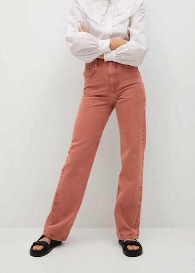MANGO Jeans 'Lola-I' in pastellrot, Modelansicht