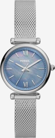 FOSSIL Аналогов часовник в сребърно