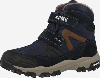 PRIMIGI Snowboots in dunkelblau / braun / schwarz, Produktansicht