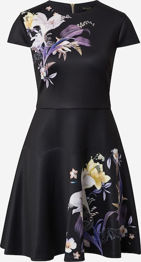 Ted Baker Cocktail dress in Mixed colours / Black, Item view