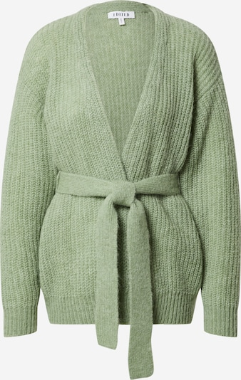 EDITED Strickjacke 'Annika' in grün, Produktansicht