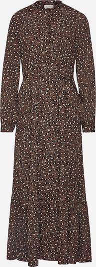 JACQUELINE de YONG Sukienka koszulowa 'JDYRICCI' w kolorze brązowy / białym, Podgląd produktu