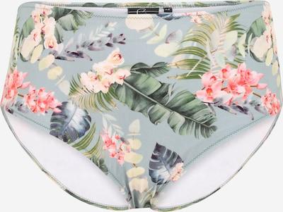 Swim by Zizzi Bikinibroek 'CALINEA' in de kleur Lichtblauw / Gemengde kleuren, Productweergave