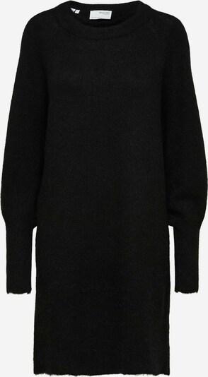 SELECTED FEMME Strickkleid in schwarz, Produktansicht