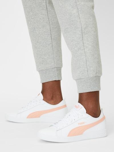 PUMA Sneaker 'Smash v2' in apricot / weiß: Frontalansicht