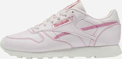 Reebok Classics ' Classic Leather Vegan Shoes ' in pink / weiß, Produktansicht