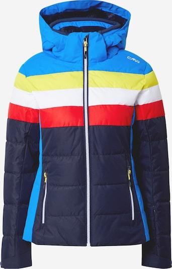 CMP Outdoor jakna u plava / žuta / crvena, Pregled proizvoda