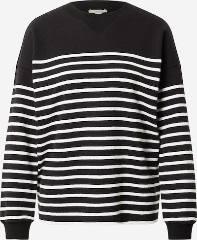 ESPRIT Sweatshirt in Black / White, Item view
