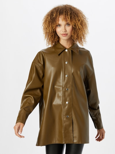 Gina Tricot Bluse 'Magda' in braun, Modelansicht