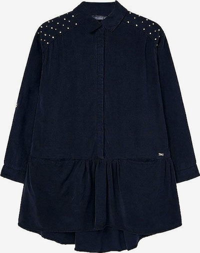 Mayoral Kleid in dunkelblau / silber, Produktansicht
