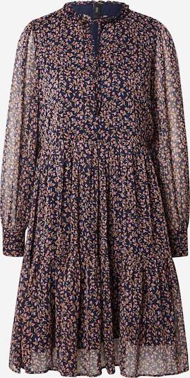 Y.A.S Kleid 'SELMIA' in hellbeige / nachtblau / hellblau / hellpink / rot, Produktansicht