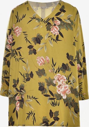 GOZZIP Bluse 'Anne' in gelb / mischfarben, Produktansicht