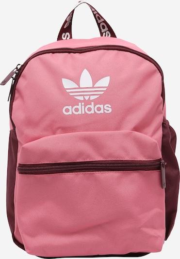 ADIDAS ORIGINALS Rucksack in rosa / weinrot / weiß, Produktansicht