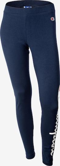 Champion Authentic Athletic Apparel Leggings in dunkelblau / rot / weiß, Produktansicht
