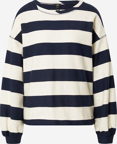 River Island Sweatshirt in navy / naturweiß, Produktansicht
