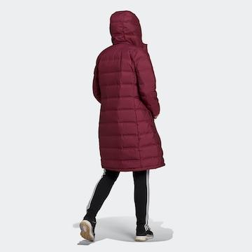 ADIDAS PERFORMANCE Outdoorový kabát 'Helionic' - Červená