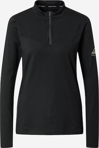NIKE Funksjonsskjorte 'Element Trail' i svart
