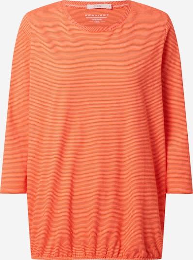 CECIL Shirt in de kleur Donkeroranje / Wit, Productweergave