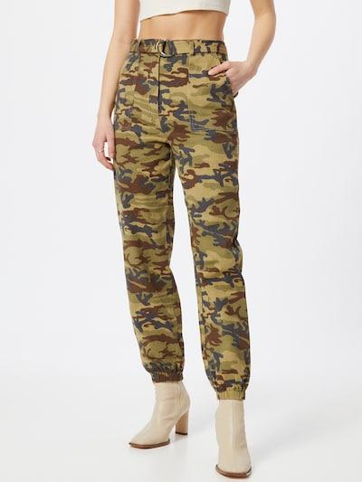 Pantaloni Missguided di colore cachi / colori misti, Visualizzazione modelli