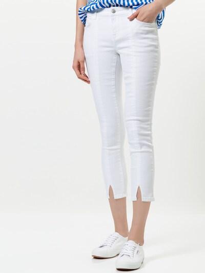 zero Jeans in weiß, Modelansicht