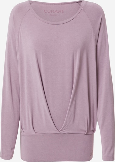 CURARE Yogawear Performance Shirt in Pastel purple / Red violet, Item view