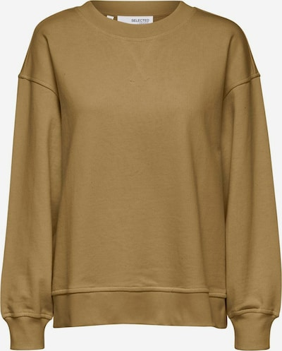 SELECTED FEMME Sweatshirt in dunkelbeige, Produktansicht