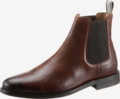 GANT Chelsea Boots in dunkelbraun / hellgrau, Produktansicht