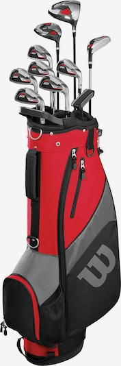 WILSON Golfschlägersatz in grau / rot / schwarz, Produktansicht