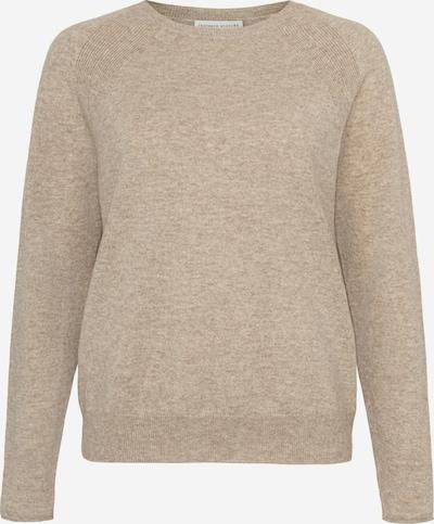 Cashmere Stories Pullover in dunkelbeige, Produktansicht