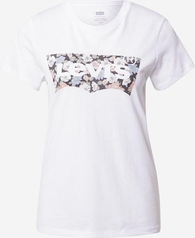 LEVI'S T-Shirt in schwarz / weiß, Produktansicht