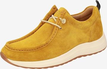 SIOUX Schnürschuh in Gelb