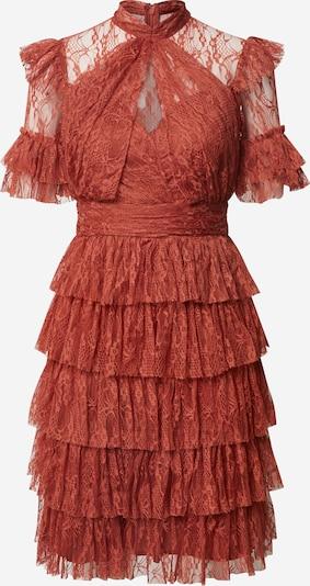 By Malina Kleid 'Liona' in rostrot, Produktansicht