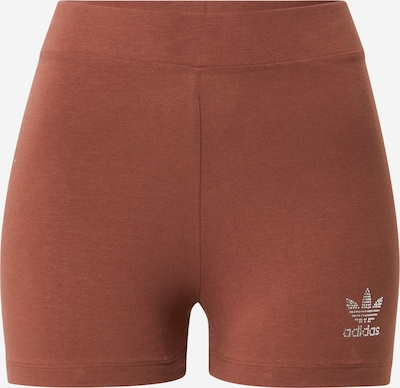 ADIDAS ORIGINALS Shorts in schoko / grau, Produktansicht