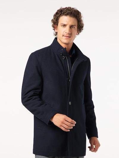 PIERRE CARDIN Winterjas in de kleur Donkerblauw, Modelweergave
