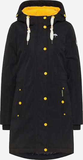 Schmuddelwedda Jacke in gelb / schwarz / weiß, Produktansicht