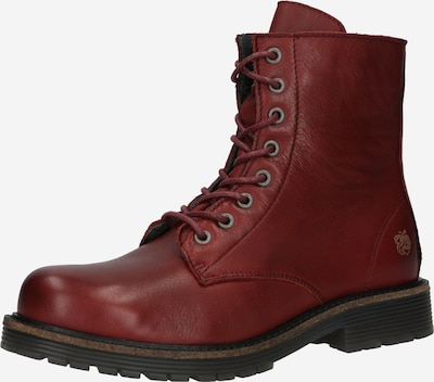Apple of Eden Lace-Up Ankle Boots 'Sun 59' in Bordeaux, Item view