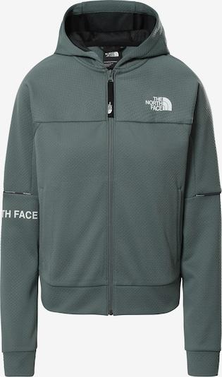 THE NORTH FACE Sweatjacken 'W MA FZ - EU' in grün, Produktansicht