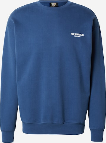 PARI Sweatshirt 'SPORTS CLUB' in Blau