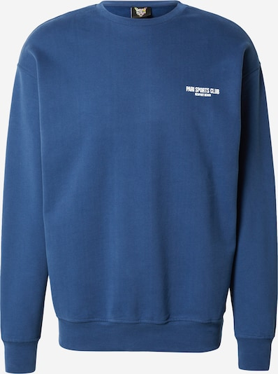 PARI Sweatshirt 'SPORTS CLUB' in Blue / White, Item view
