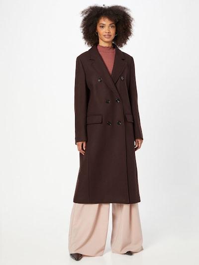 DRYKORN Mantel 'ALGATE' in braun, Modelansicht