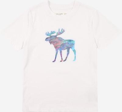 Abercrombie & Fitch Camiseta en mezcla de colores / blanco, Vista del producto