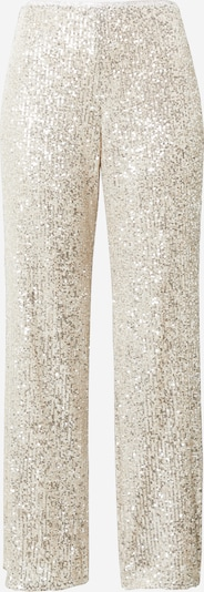 Pantaloni River Island pe bej / argintiu, Vizualizare produs