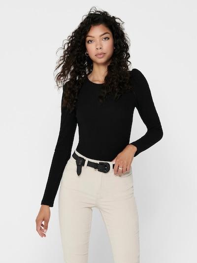 ONLY Shirt 'Emma' in schwarz: Frontalansicht