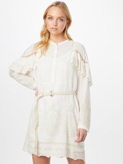 PATRIZIA PEPE Robe-chemise en blanc, Vue avec modèle