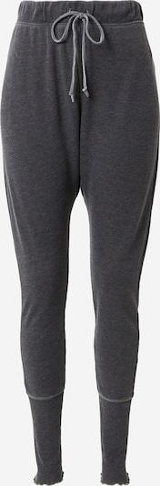 Free People Pyžamové kalhoty - černý melír, Produkt