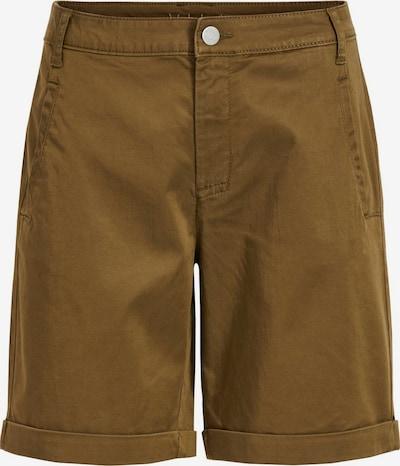 VILA Pantalon en marron, Vue avec produit