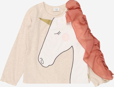 Hust & Claire Shirt 'Adisa' in Cream / Pink / Pastel red / Black / White, Item view