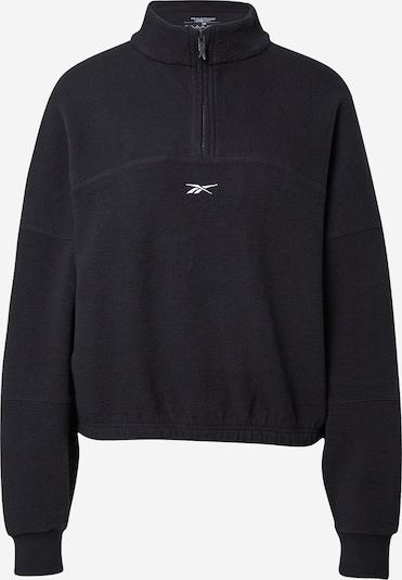 Reebok Sport Sportsweatshirt in schwarz, Produktansicht