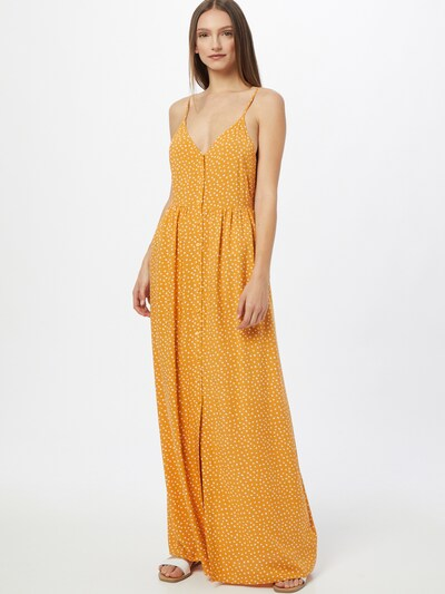 ABOUT YOU Zomerjurk 'Tamara' in de kleur Geel / Gemengde kleuren, Modelweergave